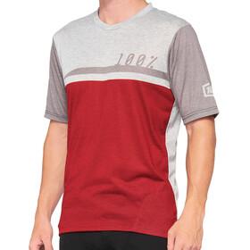 100% Airmatic Jersey Men, czerwony/szary
